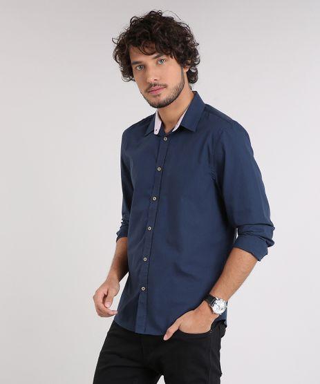 Camisa-Masculina-Comfort-Manga-Longa-Azul-Marinho-9049891-Azul_Marinho_1