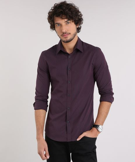 Camisa-Masculina-Slim-Listrada-Manga-Longa-Azul-Marinho-9050304-Azul_Marinho_1