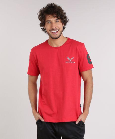 Camiseta-Masculina-Tal-Pai-Tal-Filho-com-Bordado--Corvette--Manga-Curta-Gola-Careca-Vermelha-9209740-Vermelho_1