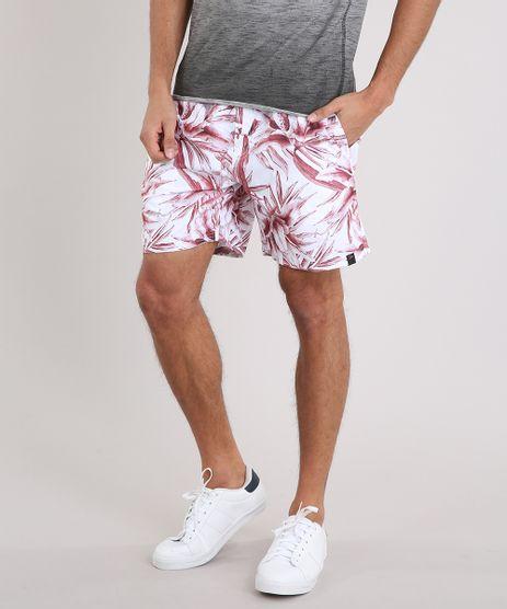 Short-Masculino-Estampado-de-Folhagem-Branco-9224192-Branco_1