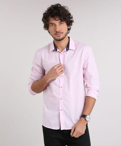 Camisa-Masculina-Comfort-Manga-Longa-Rosa-Claro-9049889-Rosa_Claro_1