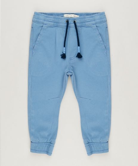 Calca-Infantil-Jogger-com-Bolsos-Azul-Claro-9235687-Azul_Claro_1