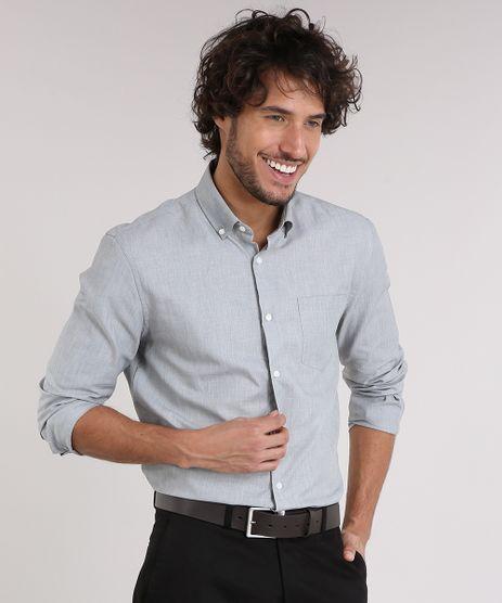 Camisa-Masculina-Comfort-Manga-Longa-Cinza-9050786-Cinza_1