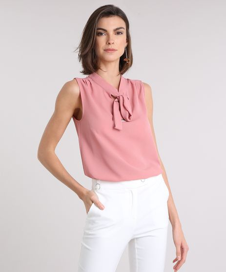Regata-Feminina-com-Gola-Laco-Rose-9109653-Rose_1