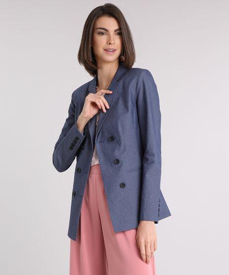Blazer-Jeans-Feminino-Acinturado-Transpassado-Azul-Escuro-9089096-Azul_Escuro_1