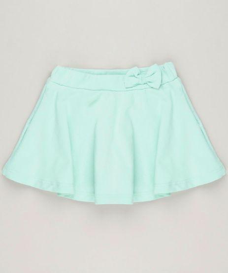 Short-Saia-Infantil-com-Laco-em-Algodao---Sustentavel-Verde-Claro-9230560-Verde_Claro_1