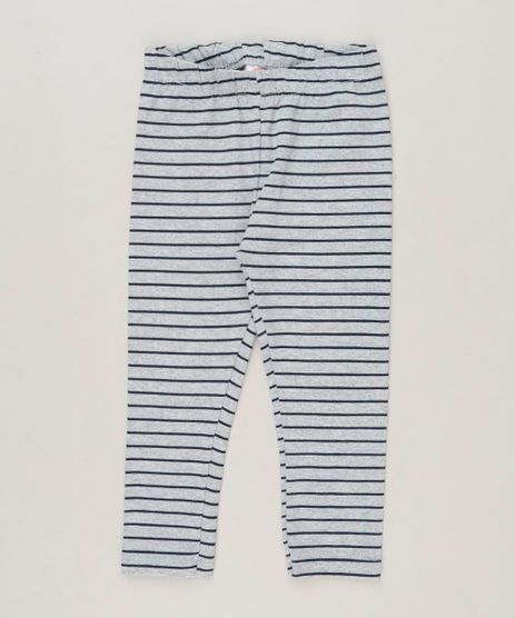 Calca-Legging-Infantil-Listrada-em-Algodao---Sustentavel-Cinza-Mescla-9236843-Cinza_Mescla_1