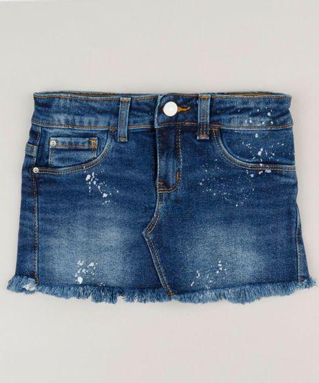 Short-Saia-Jeans-Infantil-com-Bolsos-Azul-Escuro-9142721-Azul_Escuro_1