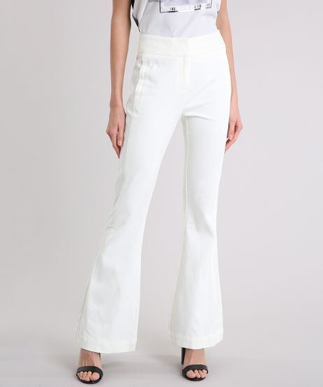 Calca-Feminina-Flare-em-Piquet-Off-White-9084701-Off_White_1