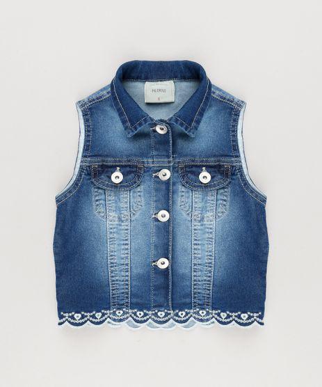 Colete-Jeans-Infantil-com-Bordado-Azul-Escuro-9045861-Azul_Escuro_1