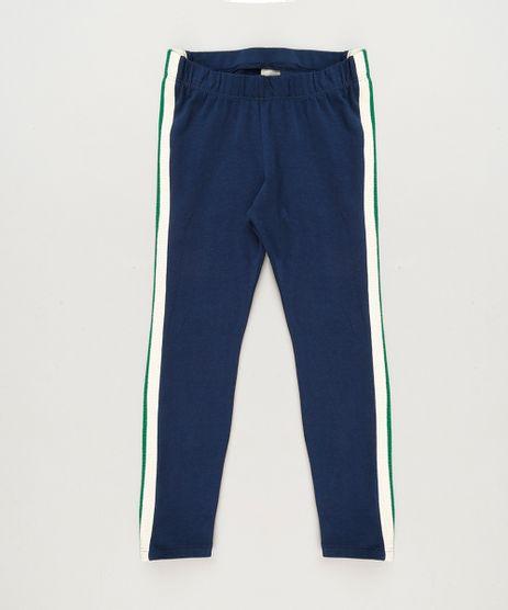 Calca-Legging-Infantil-com-Faixa-Lateral--Azul-Marinho-9232117-Azul_Marinho_1