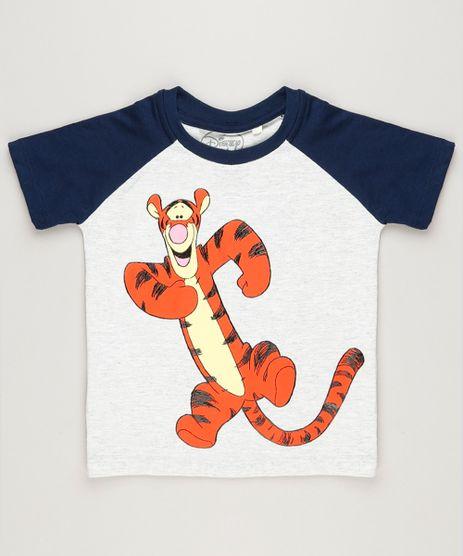 Camiseta-Infantil-Tigrao-Raglan-Manga-Curta-Gola-Careca-Cinza-Mescla-Claro-9233475-Cinza_Mescla_Claro_1