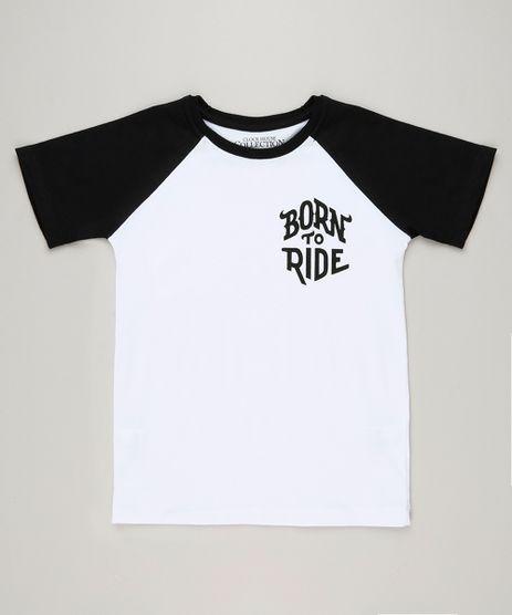 Camiseta-Infantil-Tal-Pai-Tal-Filho--Born-to-Ride--Raglan-Manga-Curta-Gola-Careca-Branca-9241777-Branco_1