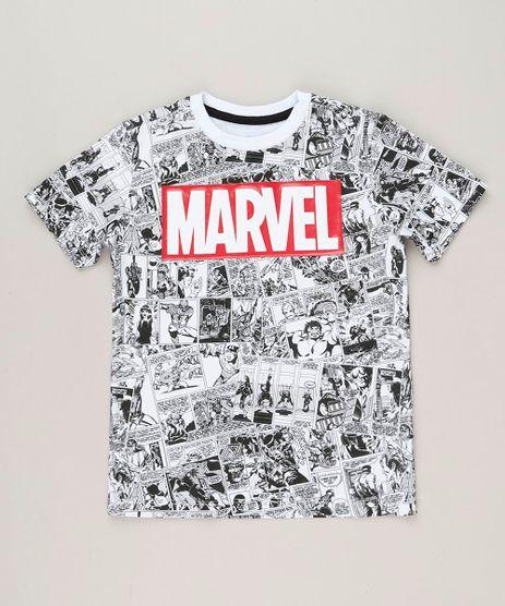 Camiseta-Infantil-Estampada-de-Quadrinhos-Marvel-Manga-Curta-Gola-Careca-em-Algodao---Sustentavel-Branca-9238387-Branco_1