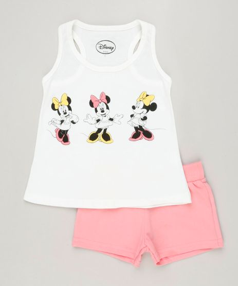 Conjunto-Infantil-Minnie-de-Regata-Off-White---Short-em-Moletom-Rosa-9230521-Rosa_1
