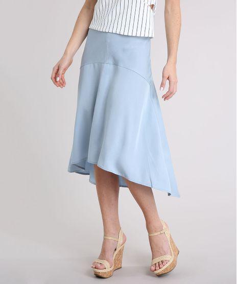 Saia-Feminina-Midi-Mullet-Evase-Azul-Claro-9087004-Azul_Claro_1