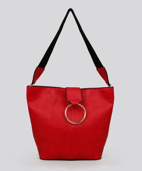 Bolsa-Feminina-Trapezio-com-Argola-Vermelha-9108641-Vermelho_1