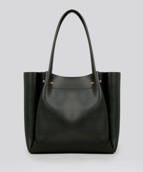 Bolsa-Feminina-Shopper-com-Piercings-Preta-9108100-Preto_1