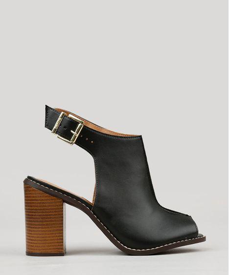 b6117d7199 Sandalia-Boot-Feminina-Vizzano-Salto-Alto-Preta-9253157- ...