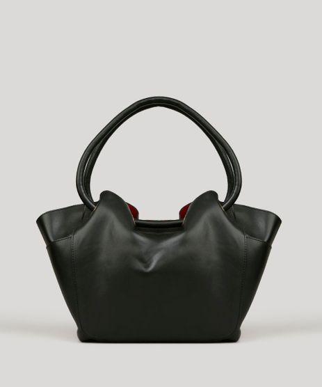 Bolsa-Feminina-Shopper-com-Bolsos-Laterais-Preta-9040178-Preto_1