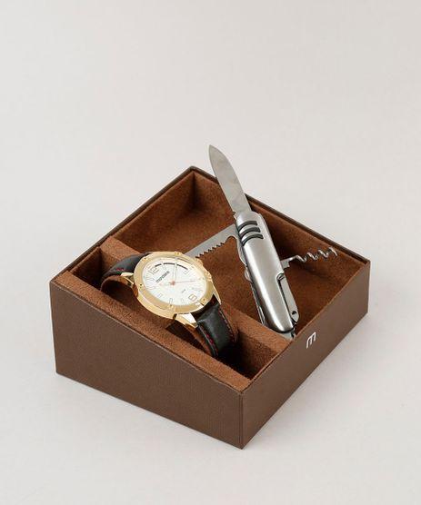 Kit-de-Relogio-Analogico-Mondaine-Masculino---Canivete---83396GPMVDH1K-Dourado-9252073-Dourado_1