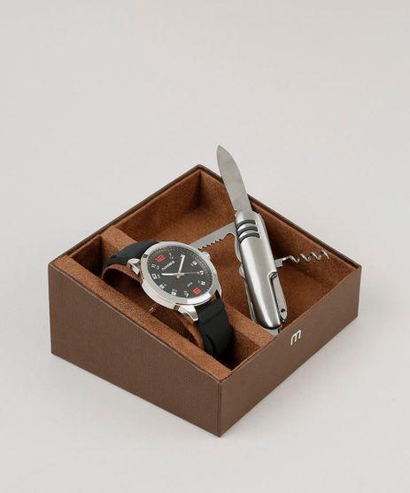 Kit-de-Relogio-Analogico-Mondaine-Masculino---Canivete---99349G0MVNI2K-Preto-9252091-Preto_1