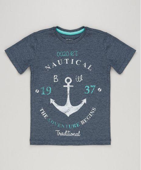 Camiseta-Infantil-Estampa-de-Ancora-Manga-Curta-Gola-Careca-Azul-Marinho-9235254-Azul_Marinho_1