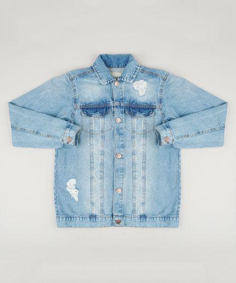 Jaqueta-Jeans-Infantil-com-Puidos-Azul-Claro-9235910-Azul_Claro_1