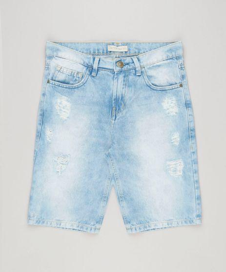 Bermuda-Jeans-Infantil-Destroyed-Azul-Claro-9226515-Azul_Claro_1