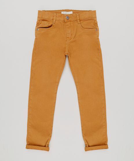 Calca-Color-Infantil-Slim-em-Algodao---Sustentavel-Caramelo-8371538-Caramelo_1
