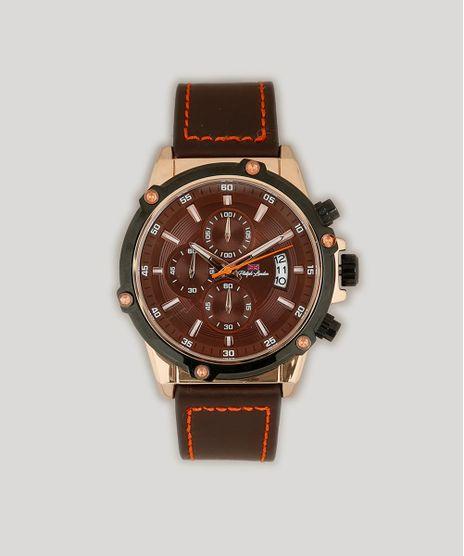 Relogio-Cronografo-Philiph-London-Masculino---PL80028632M-Marrom-9262155-Marrom_1