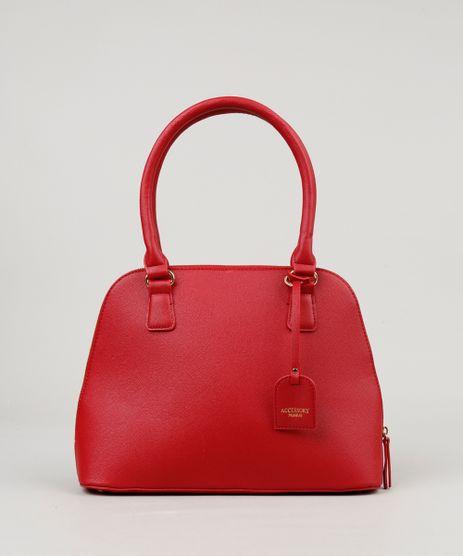 Bolsa-Feminina-Shoulder-Texturizada-Vermelha-8202744-Vermelho_1