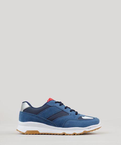 Tenis-Infantil-Running-com-Recortes-Azul-Marinho-9239661-Azul_Marinho_1