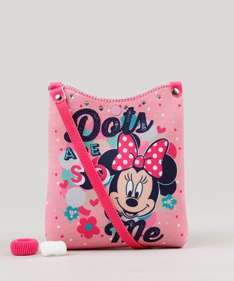 Bolsa-Estampada-Minnie-com-Strass---Elastico-de-Cabelo-Rosa-9126692-Rosa_1