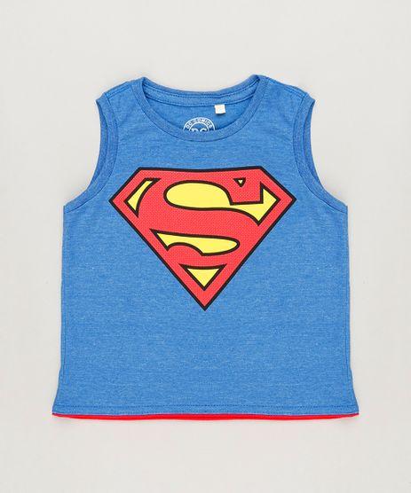 Regata-Infantil-Super-Homem-Gola-Careca-Azul-9233456-Azul_1