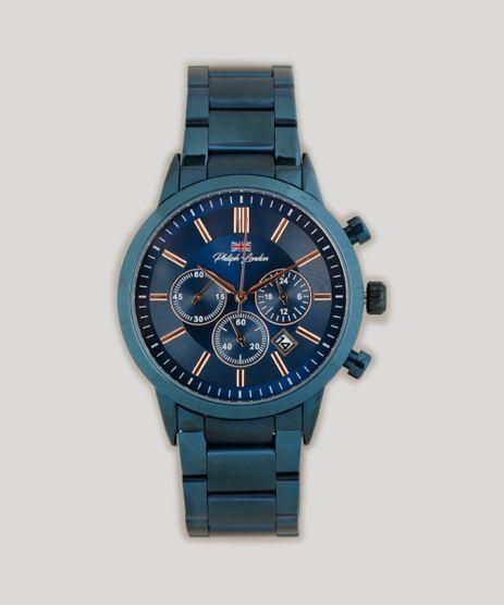 Relogio-Cronografo-Philiphh-London-Masculino---PL80046613M-Azul-Marinho-9262131-Azul_Marinho_1
