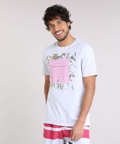 Camiseta-Masculina--Morocco-Desert--Manga-Curta-Gola-Careca-Cinza-Mescla-Claro-9210342-Cinza_Mescla_Claro_1