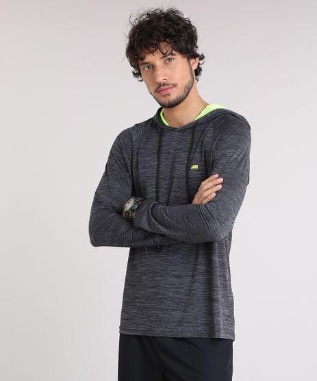 Camiseta-Masculina-Esportiva-Ace-com-Recortes-e-Capuz-Manga-Longa-Cinza-Mescla-Escuro-9218669-Cinza_Mescla_Escuro_1