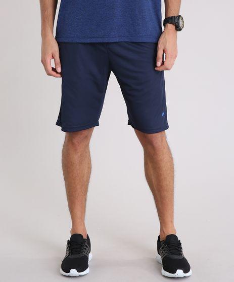 Bermuda-Masculina-Esportiva-de-Treino-Ace-com-Recorte-Azul-Marinho-9258380-Azul_Marinho_1