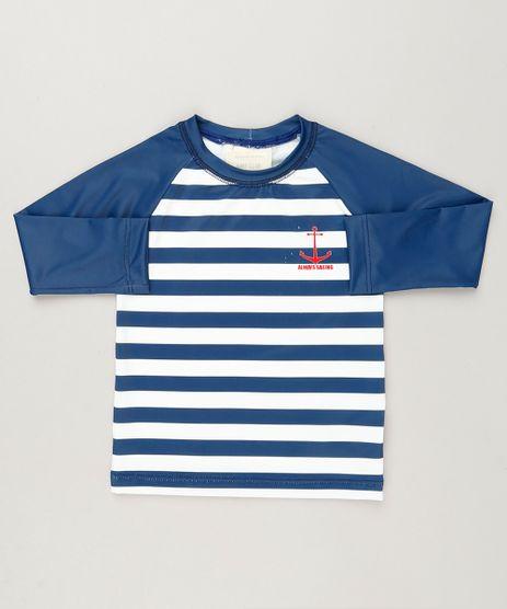 Camiseta-de-Praia-Infantil-Listrada-Raglan-Manga-Longa-Azul-Marinho-9227407-Azul_Marinho_1