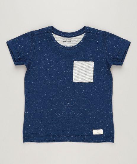Camiseta-Infantil-com-Bolso-Manga-Curta-Gola-Careca-Azul-Marinho-9224538-Azul_Marinho_1