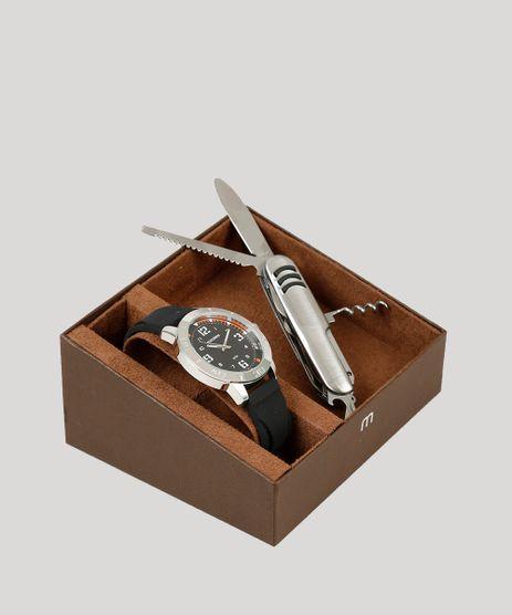 Kit-de-Relogio-Analogico-Mondaine-Masculino---Canivete---99350G0MVNI1KA-Preto-9252097-Preto_1