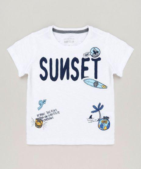 Camiseta-Infantil--Sunset--Manga-Curta-Gola-Careca-Off-White-9225883-Off_White_1