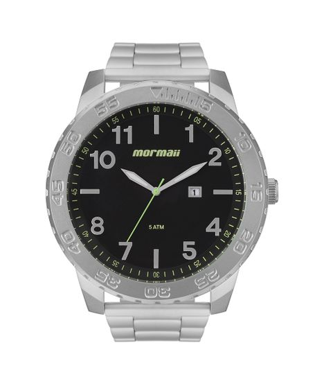 875b18ee598 Relógio Mormaii Masculino Art Prata - MO2115BD 1P - cea