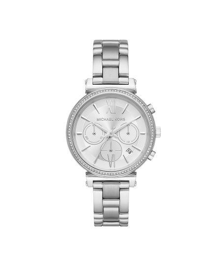8df3fb774 Relógio Michael Kors Feminino Sofie Prata - MK6575/1KN   Menor preço ...