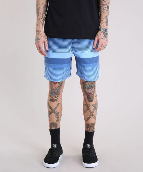 Bermuda-Masculina-Listrada-com-Bolsos--Azul-9226916-Azul_1