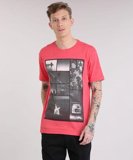 Camiseta-Masculina-com-Estampa-de-Fotos-Manga-Curta-Gola-Careca-Vermelha-9236044-Vermelho_1