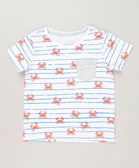 Camiseta-Infantil-Listrada-Caranguejo-com-Bolso-Manga-Curta-Gola-Redonda-Off-White-9225829-Off_White_1