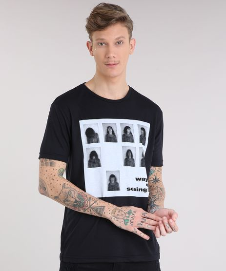 Camiseta-Masculina--Ways-of-Seeing--Manga-Curta-Gola-Careca-Preta-9216077-Preto_1