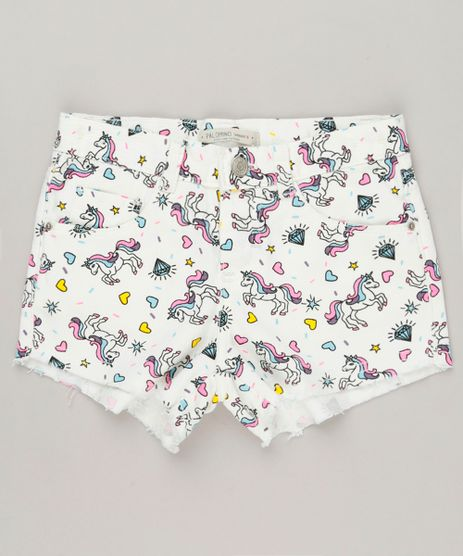 Short-Color-Infantil-Estampado-de-Unicornios-Barra-Desfiada-Off-White-9236528-Off_White_1